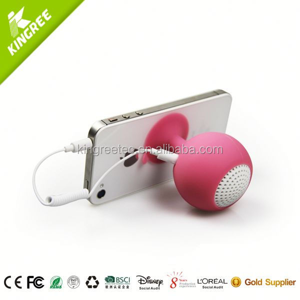 wholesale af mini digital speaker silicone portable speaker from China factory