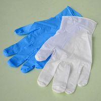 aql4.0 xxl powder free nitrile gloves
