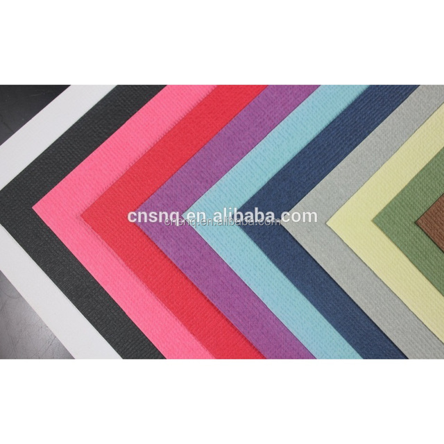 Colorful 230g Weave Cardstock Paper / Bubble Cardstock Paper (White Core Color Paper)- 12*12 inch for handicrafts