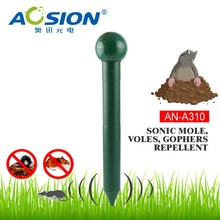 Aosion wonderful outdoor sound wave solar mole repeller AN-A310