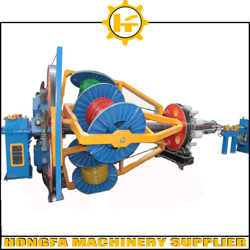 Low price galvanized wire electric cable production line