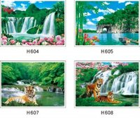 Waterfall Lenticular 3D Picture/poster/painting