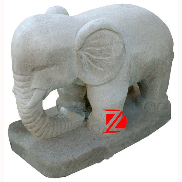 stone little elephant statue