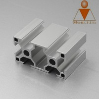 Champagne Anodized Aluminium Extrusion Profile For