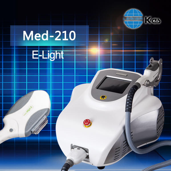 Portable e-light ipl laser hair removal in australia with ABS housing and good service