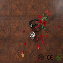 low cost zebrano laminate flooring with medium embossed