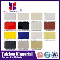 Alucoworld Color Fiber Cement lightweight exterior wall panel building materials