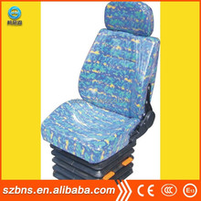 BNS adjustable high quality Metro Train driver seats with suspension