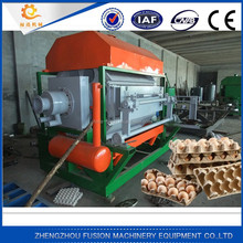 WHOLE PRODUCTION LINE paper egg carton making machine/electronic products paper tray equipment with drying equipment(customzied)