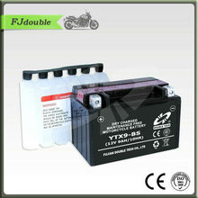 YTX9-BS Battery/Maintenance free Dry Charge Motorcycle battery12V9AH