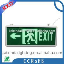 2017 new products fire exit sign led emergency light gold supplier