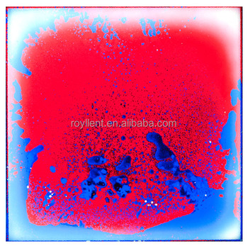 Toys shop,Kids room,Clubs,Bars,restaurant Interactive decorative liquid lava floor tile
