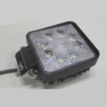 led rechargeable 24w work light china supplier 24w car modified light car led driving lamp light