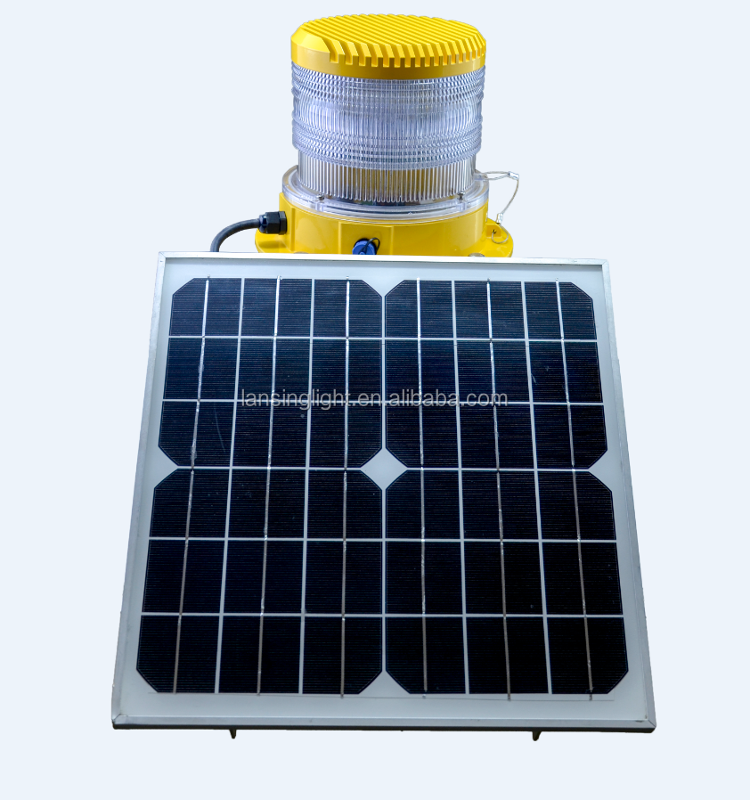 TY2KS Solar obstruction light/Medium intensity aviation obstruction light/Aviation obstruction light