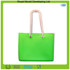 High quality soft silicone material silicone beach bag,silicone handbag wallet