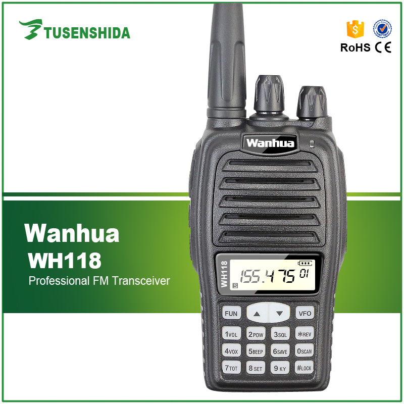 Portable Radio Wanhua Wireless Radio WH-118 Communication Equipment for Easy Talk