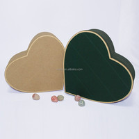 handmade heart shaped corrugated box