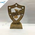 New Design Customized Resin Music Star Shield Trophy
