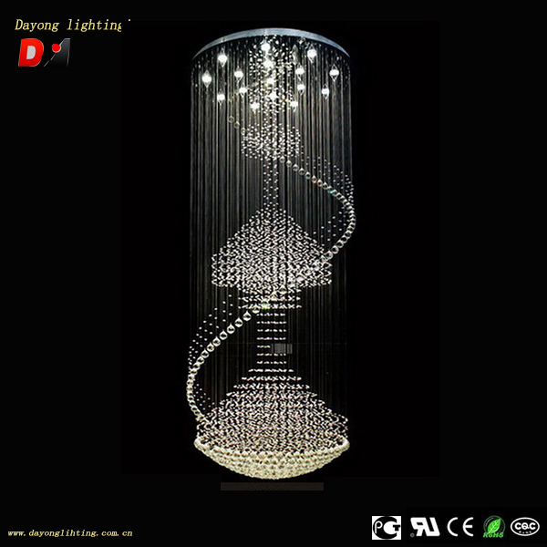 crystal chandelier DY3320-16 crystal chains beads crystal chandelier