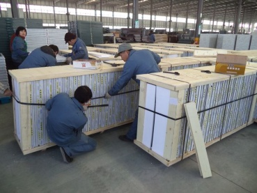 Aluminum Windows and Doors -- Packing