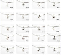 304 Stainless steel jewelry accessories pendants charms for bracelet making