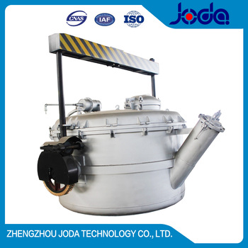 China High Quality 3T Vacuum Ladle for Aluminum Smelter