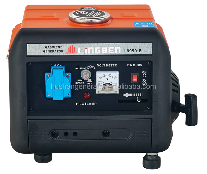 LingBen 950Type Power Portable Gasoline Generator Set With CE(LB950-E)