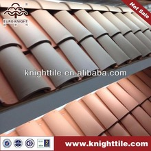 traditional natural clay barrel roofing ridge tile factory