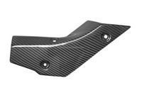 Carbon Fiber Exhaust Cover for Yamaha R1 2015