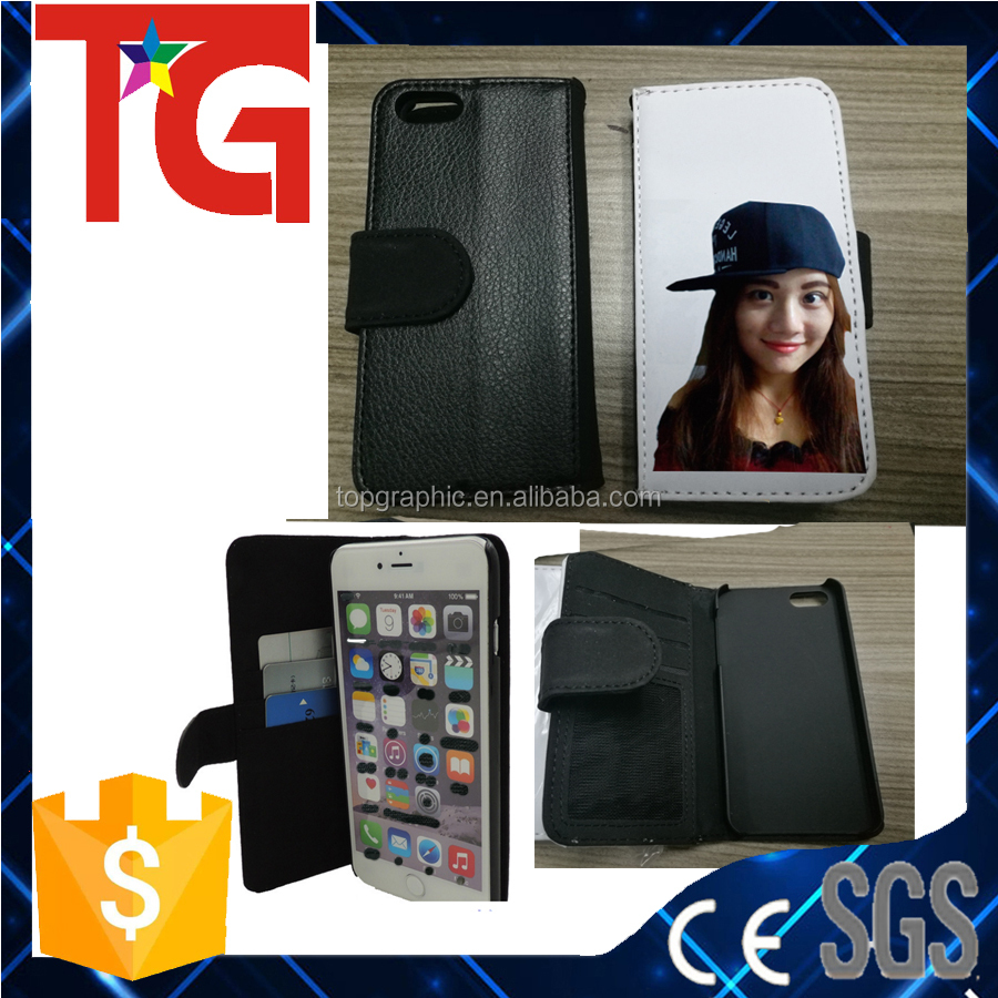 full size protecting ,Sublimation Flip Leather Phone Case Back Cover for printing