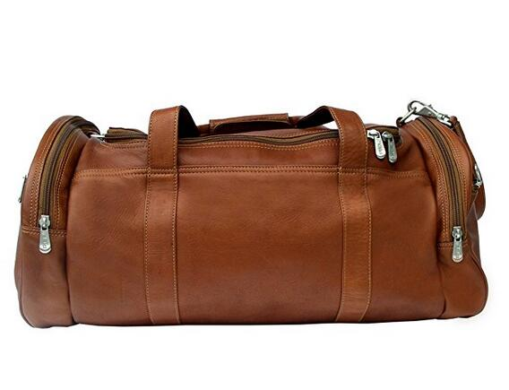leather men messenger bag toiletry bag