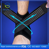 Fitness adjustable protector ankle bandage support wrap for sports