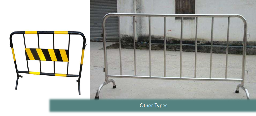 Customized portable crowd control stainless steel road barricades,pedestrian barriers