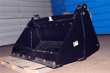 Good Sealed skid steer loader 4 in 1 bucket manufactured China