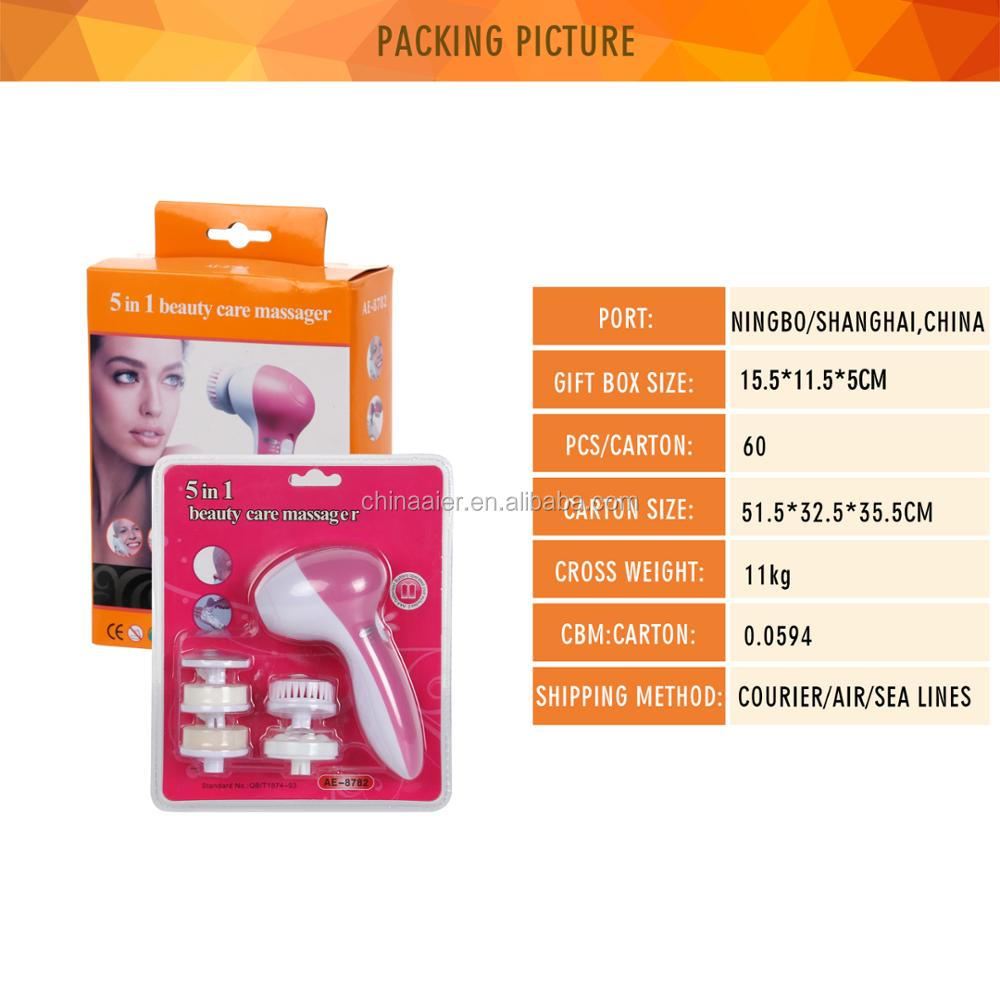 Electric Beauty&Clean Set for bathing facial cleansing brush