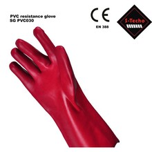 PVC dots grip working glove