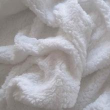 THX Small MOQ Polyester Sherpa Berber Fleece Fabric