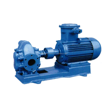 Horizontal electric motor driven oil transfer gear pump
