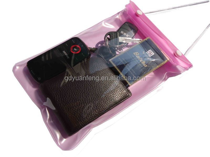 china supplier hot sale pvc waterproof tablet bag for ipad mini,kindle 4