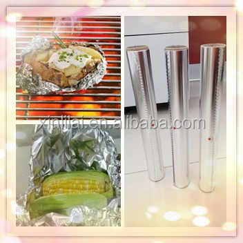 diamond aluminium foi for food packaging, BBQ aluminium foil roll