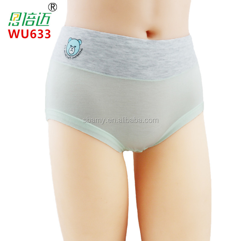 sbamy custom Bamboo Underwear Brief Women Full Cover Style brief
