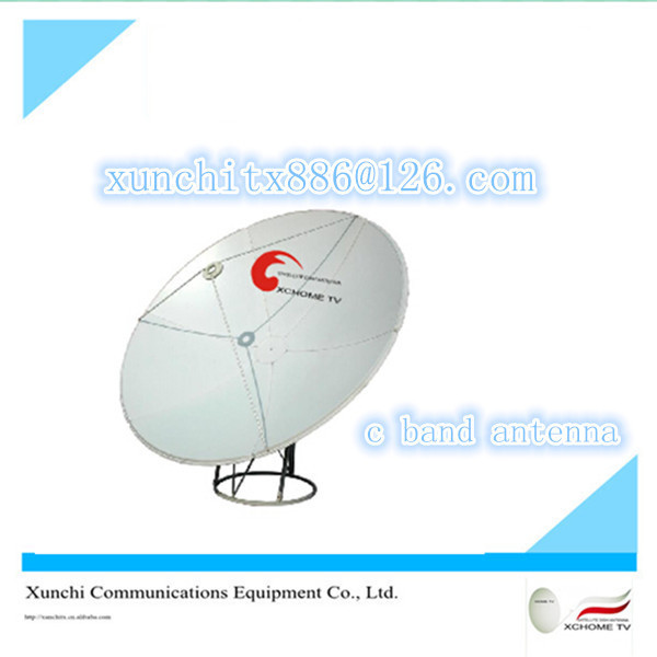 c band 120cm prime focus dish antenna/antenas tv satelitables
