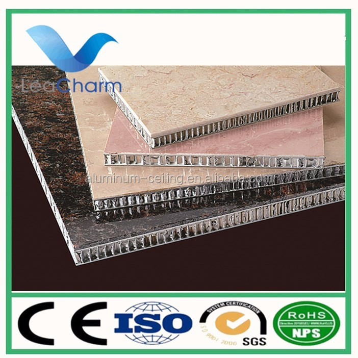 Insulated Interior Wall Panel aluminum honeycomb ceiling