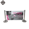 Commercial Customized Printed Retractable Outdoor Banner Stand Display Cafe Barriers