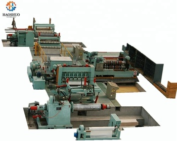 High Speed High Precision 1-6*1500mm Cassette Type Double Slitter Steel Slitting Line Machine