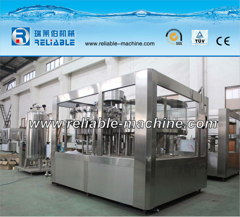 Full Automatic Aerated Water/Soda Water/Soft Drink Bottling Equipment