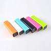 LOT Power Bank Lipstick Portable Universal USB Backup Battery Charger 2600mAh
