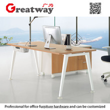 Simple Design L Shaped Office Desk With Drawer(QE--40L)