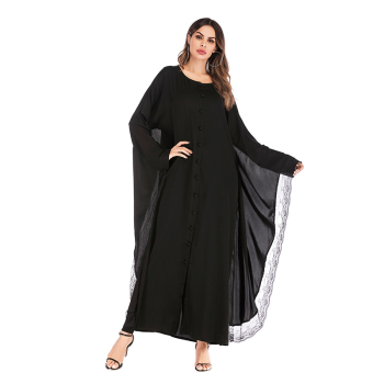 1687# Special design dubai kimono model bat long sleeve abaya ladies dress for women abaya in pakistan karachi wholesale