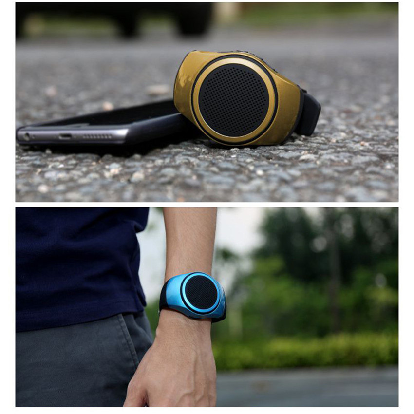 B20 Outdoor Sports Watch MP3 Music Player for Portable Wireless Bluetooth Smart Watch Mini Speaker